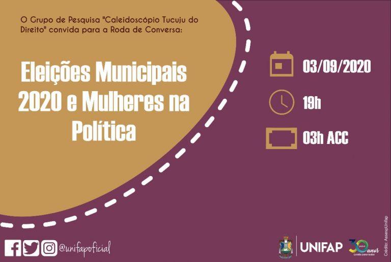 Pesquisadores da UNIFAP realizam roda de conversa sobre eleições e mulheres na política