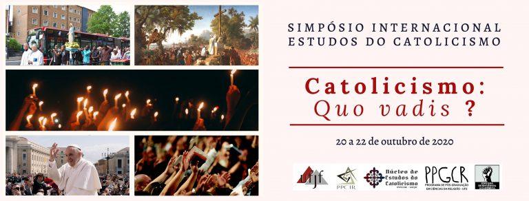 UFJF promove o Simpósio internacional Estudos do Catolicismo
