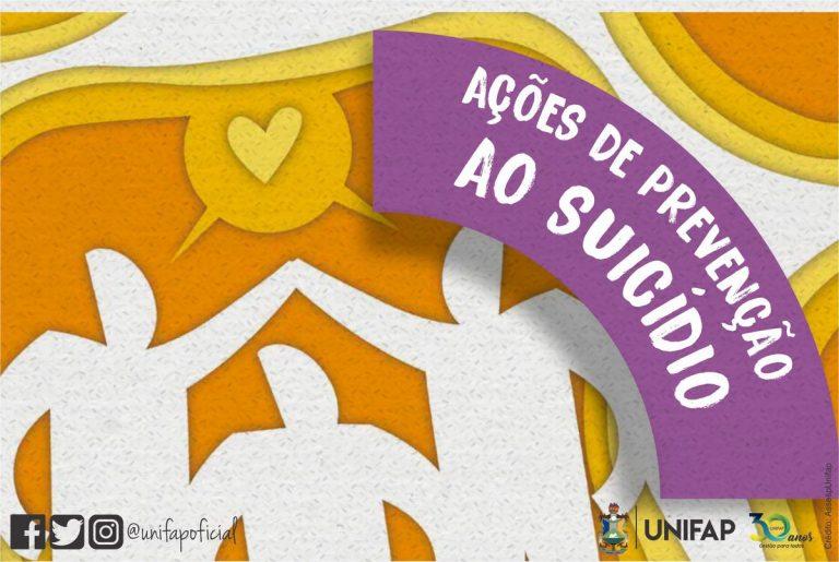 UNIFAP apoia projeto nacional de prevenção do suicídio