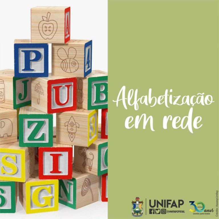 UNIFAP integra coletivo nacional de pesquisa em alfabetização