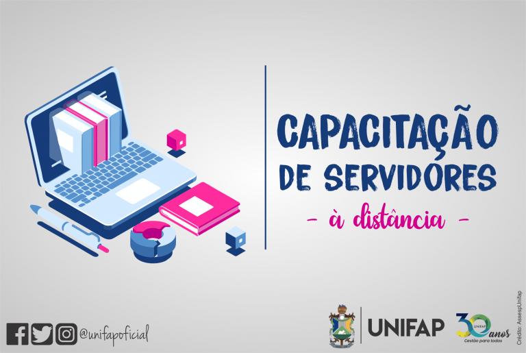 Inscrições abertas para cursos de capacitação aos servidores da UNIFAP