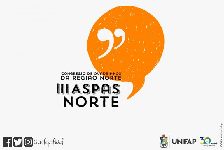 3º ASPAS NORTE debaterá 'Quadrinhos e Cultura pop' em edição online