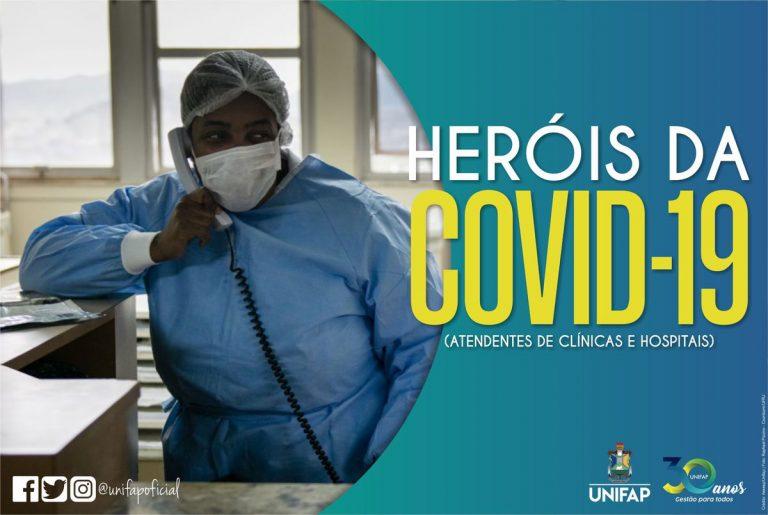 """Ação """"Heróis da COVID-19"""" presta homenagem aos atendentes de clínicas e hospitais"""