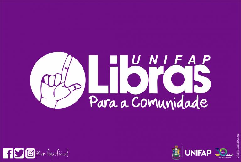 Edital oferta 120 vagas em curso de libras para comunidade amapaense