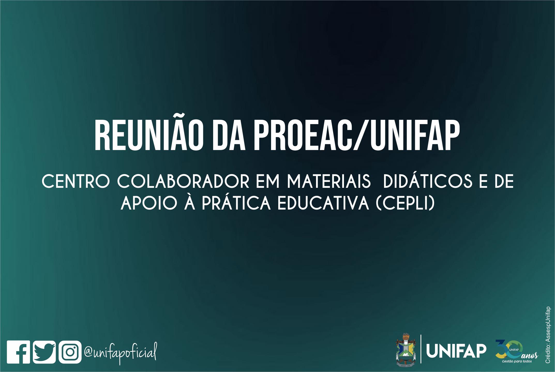 PROEAC/UNIFAP convoca docentes interessados para Programa Nacional do Livro Didático
