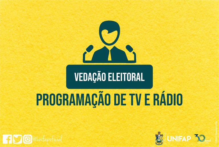 Emissoras de TV e Rádio devem vedar propagandas eleitorais, orienta ABERT