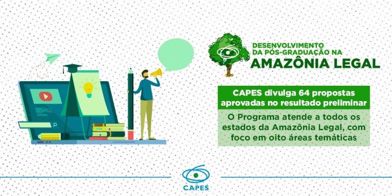 UNIFAP tem 3 projetos aprovados pela CAPES para Pós-Graduação na Amazônia Legal