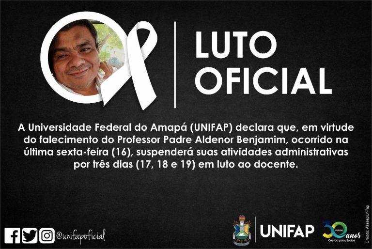 As atividades administrativas na instituição serão suspensas até segunda feira, 19.