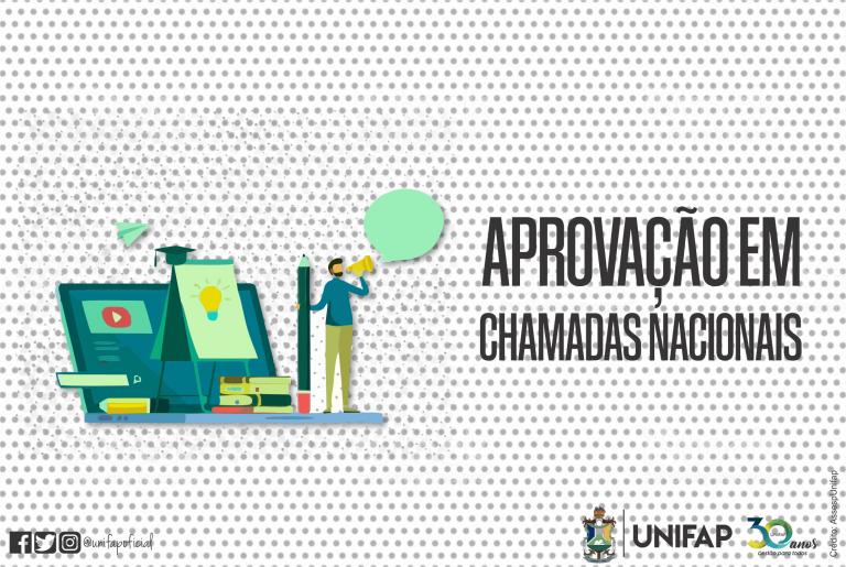 PROPESPG/UNIFAP tem projetos aprovados em chamadas públicas nacionais