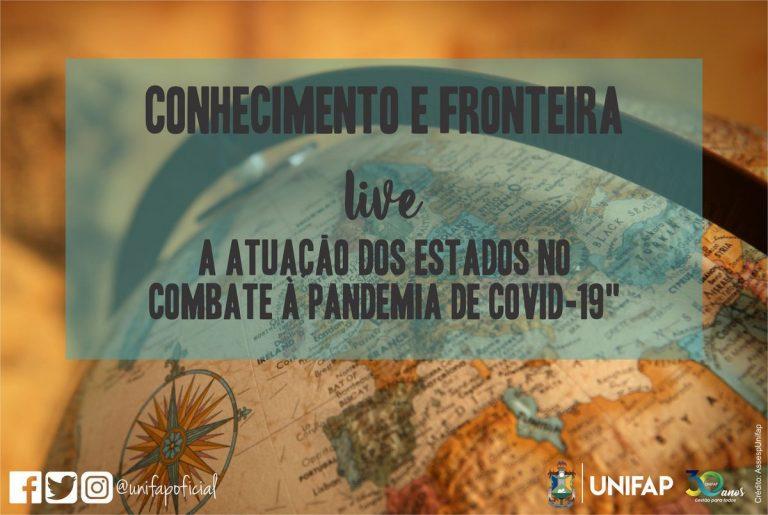 PPGEF da UNIFAP realiza live sobre a ação de Governos Estaduais na Pandemia