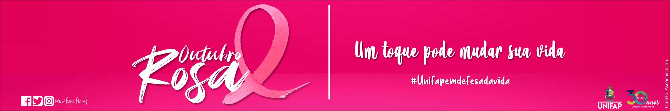 Outubro Rosa – cuidando da saúde das mulheres