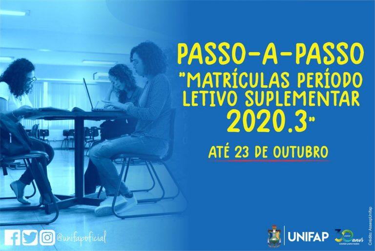 Matrículas no PLS 2020.3 terminam nesta sexta, 23. Veja o passo a passo.