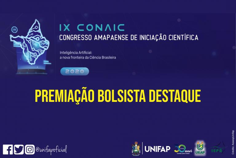 Bolsista PIBIC/CNPq da UNIFAP é premiada em 1° lugar no IX CONAIC