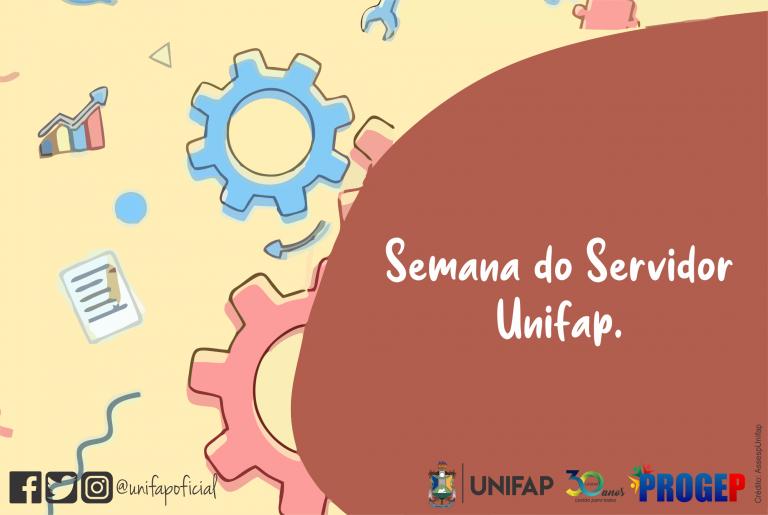 UNIFAP promove encontros virtuais para a Semana do Servidor