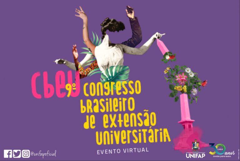 9⁰ Congresso Brasileiro de Extensão Universitária prorroga prazo para envio de trabalhos