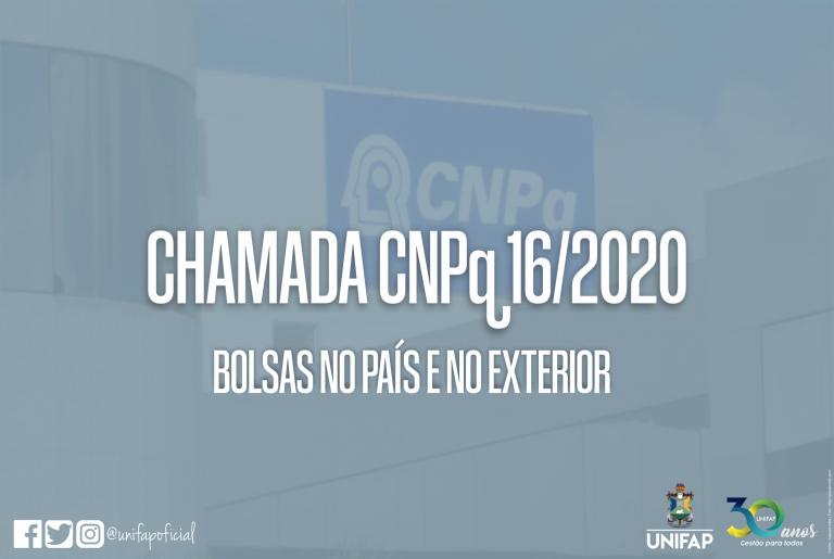 CNPq lança chamada para bolsas no país e no exterior