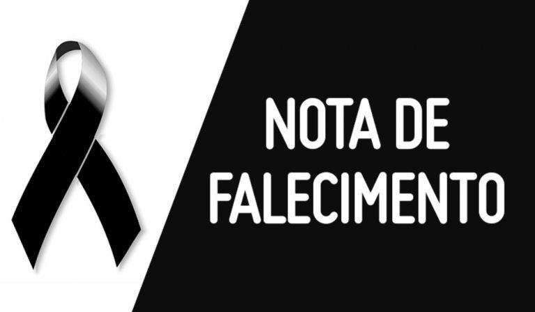 Nota de pesar pelo falecimento do médico Fabiano Laranjeiras
