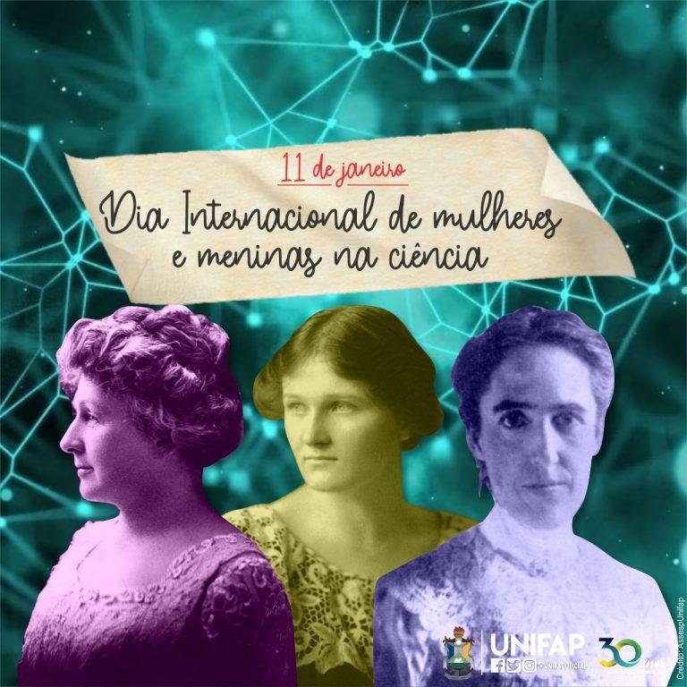 Unifap parabeniza comunidade feminina pelo Dia Internacional das Mulheres e Meninas na Ciência