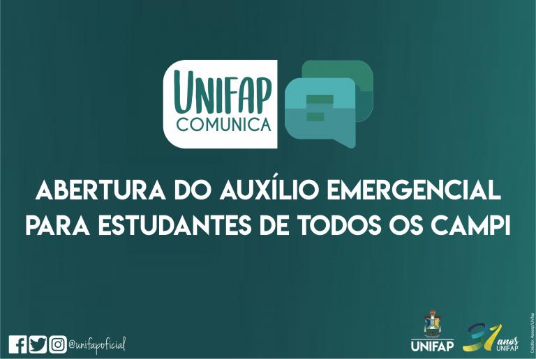 PROEAC anuncia abertura para requisição do auxílio emergencial
