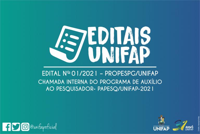 Auxílio beneficia pesquisadores da UNIFAP