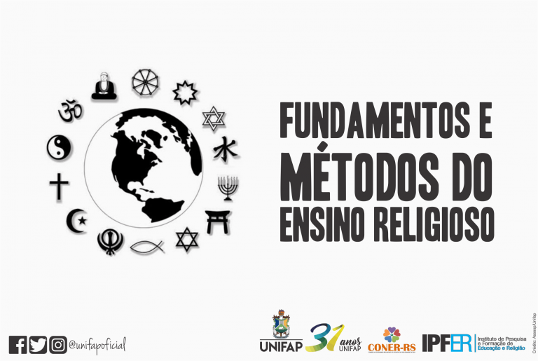 "Oferta do curso ""Fundamentos e Métodos do Ensino Religioso"""