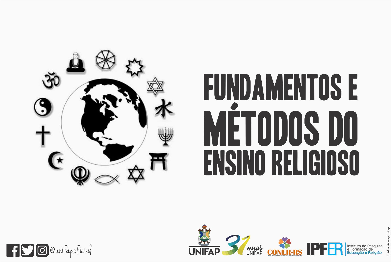 """Oferta do curso """"Fundamentos e Métodos do Ensino Religioso"""""""