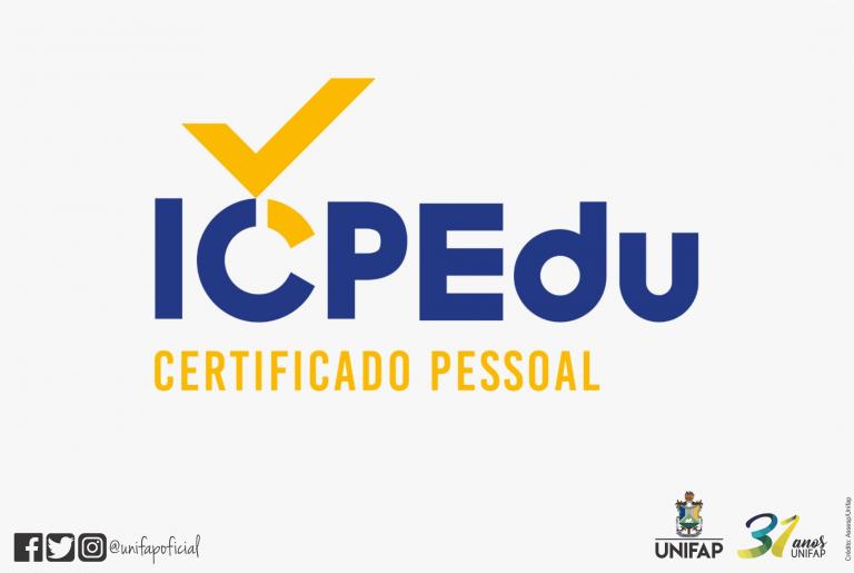 Certificado Digital para alunos, docentes e técnicos