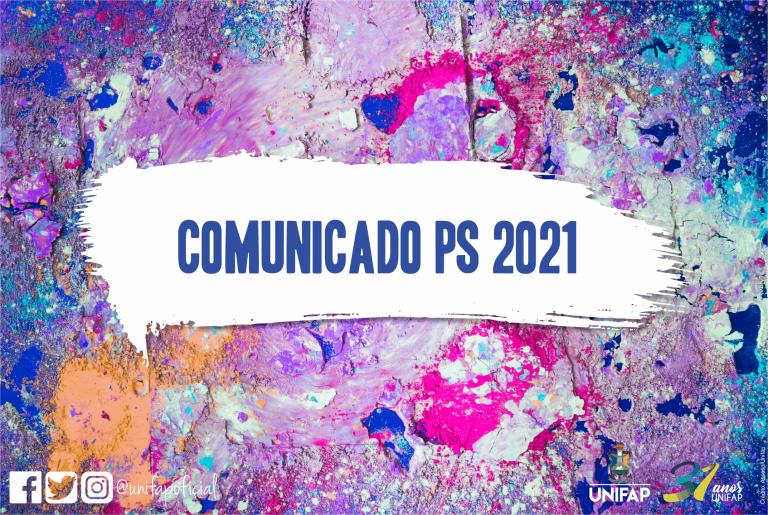 Resultado provisório do PS 2021 será divulgado na sexta-feira, 18