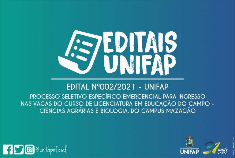 Campus Mazagão oferta 40 vagas em edital
