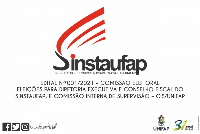 Assembleia Geral do SINSTAUFAP – 19/10/2021