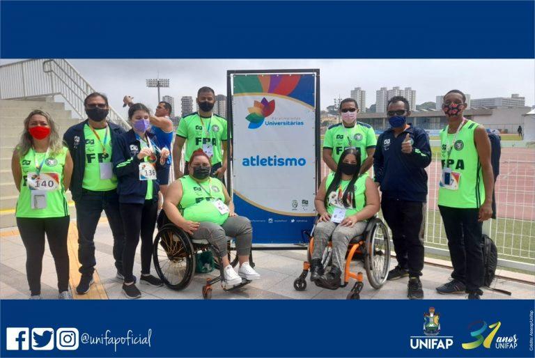 UNIFAP conquista medalhas em Paralimpíadas Universitárias