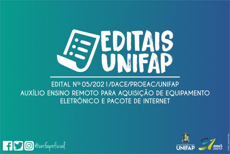 PROEAC lança edital de auxílio para aquisição de equipamentos eletrônicos e internet