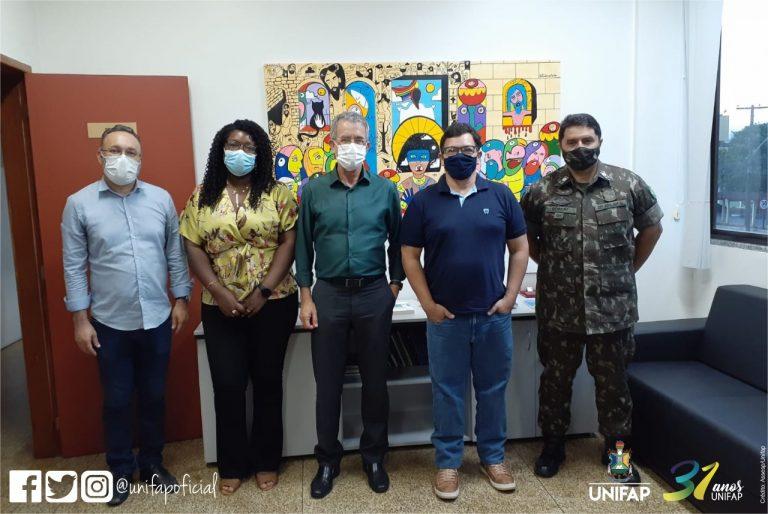 Presidente da EBSERH faz visita à UNIFAP